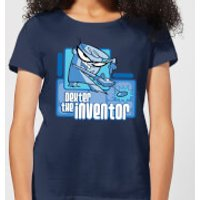 Dexters Lab The Inventor Women's T-Shirt - Navy - XS - Navy