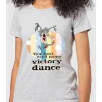 I Am Weasel You Don't Need Pants For The Victory Dance Women's T-Shirt - Grey - XXL - Grey - Dance Gifts