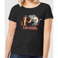I Am Weasel Characters Women's T-Shirt - Black - M - Black