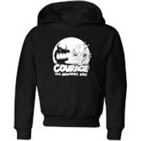 Courage The Cowardly Dog Spotlight Kids' Hoodie - Black - 5-6 Years - Black