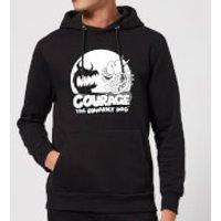 Courage The Cowardly Dog Spotlight Hoodie - Black - M - Black