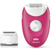 Braun Silk-epil 3 3-410 Epilator with 3 Extras