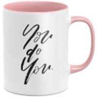 You Do You Mug - White/Pink