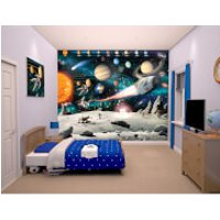 Walltastic Space Adventure Wall Mural - Walltastic Gifts