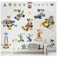 Walltastic Disney Mickey Mouse Roadster Racer Room Décor Kit - Walltastic Gifts