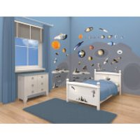 Walltastic Space Adventure Room Décor Kit - Walltastic Gifts