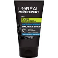 L'Oréal Paris Men Expert Pure Charcoal Anti-Blackhead Daily Face Scrub 100ml