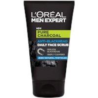 LOréal Paris Men Expert Pure Charcoal Anti-Blackhead Daily Face Scrub 100ml