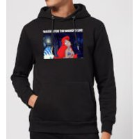 Disney The Little Mermaid Weekend Wait Hoodie - Black - XL - Black