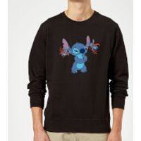 Disney Lilo And Stitch Little Devils Sweatshirt - Black - 3XL - Black