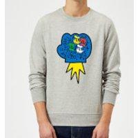 Donald Duck Pop Fist Sweatshirt - Grey - XL - Grey