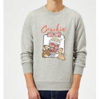 Disney Crackin Me Up Sweatshirt - Grey - S - Grey