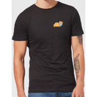 Disney Winnie The Pooh Backside Men's T-Shirt - Black - XS - Black