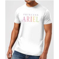 Disney The Little Mermaid Princess Ariel Men's T-Shirt - White - XXL - White