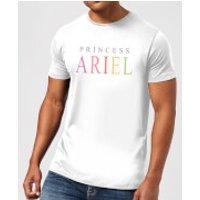 Disney The Little Mermaid Princess Ariel Mens T-Shirt - White - XXL - White