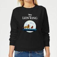 Disney Lion King Hakuna Matata Walk Women's Sweatshirt - Black - XS - Black