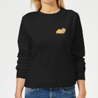 Disney Winnie The Pooh Backside Women's Sweatshirt - Black - L - Black