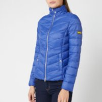 Barbour International Women's Aubern Quilt Jacket - Ultra Marine - UK 12