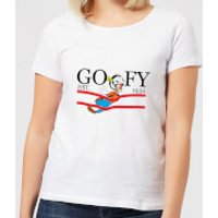 Disney Goofy By Nature Women's T-Shirt - White - 5XL - White - Nature Gifts