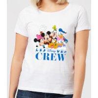 Disney Crew Women's T-Shirt - White - L - White