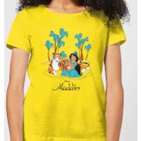 Disney Aladdin Princess Jasmine Women's T-Shirt - Yellow - L - Yellow - Princess Jasmine Gifts
