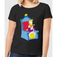 Disney King Donald Women's T-Shirt - Black - XXL - Black