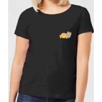Disney Winnie The Pooh Backside Women's T-Shirt - Black - S - Black - Winnie The Pooh Gifts