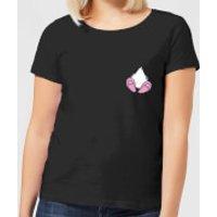 Disney Daisy Duck Backside Women's T-Shirt - Black - L - Black