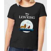 Disney Lion King Hakuna Matata Walk Women's T-Shirt - Black - 5XL - Black - Lion King Gifts