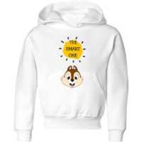 Disney Chip 'N' Dale The Smart One Kids' Hoodie - White - 3-4 Years - White