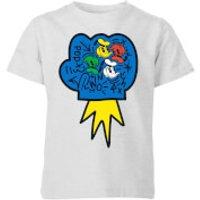 Donald Duck Pop Fist Kids' T-Shirt - Grey - 11-12 Years - Grey