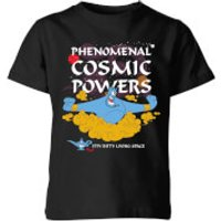 Disney Aladdin Phenomenal Cosmic Power Kids' T-Shirt - Black - 3-4 Years - Black
