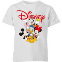 Mickey Mouse Disney Crew Kids' T-Shirt - Grey - 9-10 Years - Grey