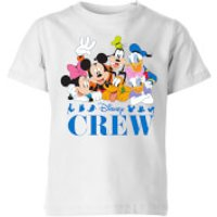 Disney Crew Kids' T-Shirt - White - 3-4 Years - White
