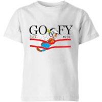 Disney Goofy By Nature Kids' T-Shirt - White - 11-12 Years - White - Nature Gifts