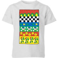 Donald Duck Vintage Pattern Kids' T-Shirt - Grey - 11-12 Years - Grey - Vintage Gifts