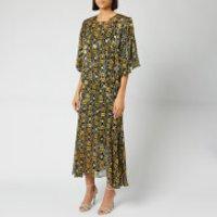 Preen By Thornton Bregazzi Women's Lydia Dress with Slip - Black/Yellow - L - Black