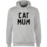 Cat Mum Hoodie - Grey - M - Grey