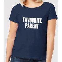 Favourite Parent Women's T-Shirt - Navy - XL - Navy