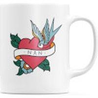 Nan Heart Mug - Nan Gifts