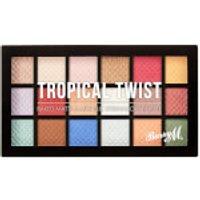 Barry M Cosmetics Baked Eyeshadow Palette Tropical Twist