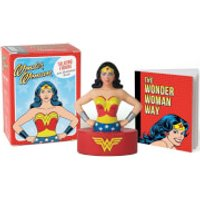 Wonder Woman Talking Figure and Illustrated Book MiniKit - Wonder Woman Gifts