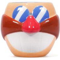 Sonic Shaped Mug - Eggman - Sonic Gifts