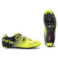Northwave Revolution Road Shoes - Yellow Fluo/Black - EU 46