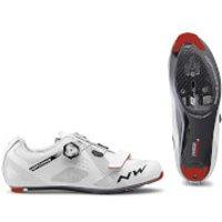 Northwave Storm Carbon Road Shoes - White - EU 44