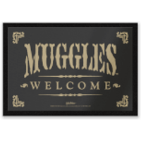 Harry Potter Muggles Welcome Entrance Mat
