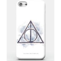 Harry Potter Phonecases Deathy Hallows Phone Case for iPhone and Android - Samsung S7 - Carcasa rígida - Brillante