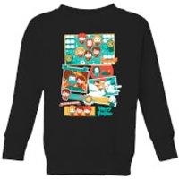 Harry Potter Kids Cute Films Kids' Sweatshirt - Black - 11-12 Years - Black - Cute Gifts