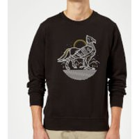 Harry Potter Buckbeak Sweatshirt - Black - M - Black