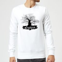 Harry Potter Always Tree Sweatshirt - White - S - White